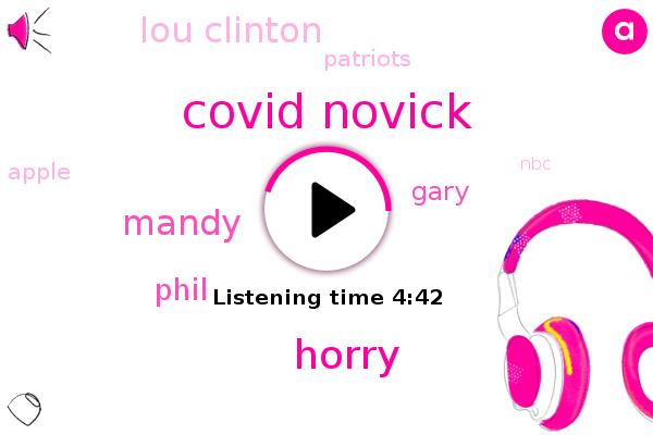 Covid Novick,Horry,Mandy,Patriots,Apple,Phil,NBC,Atlanta,Merrill,Basketball,Gary,Lou Clinton,Youtube