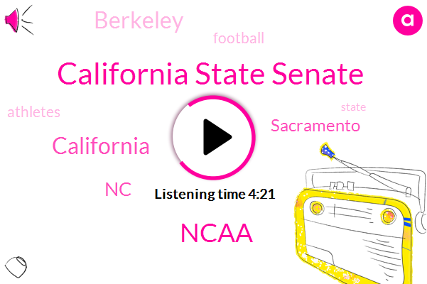 California State Senate,California,Football,NC,Sacramento,Berkeley,Ncaa,Ten Years
