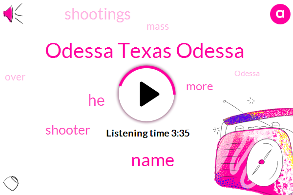 Listen: The Odessa Police Chief Is Refusing to Name the Mass Shooter. It's Part of a Growing Trend.