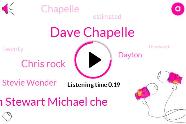 Listen: Dave Chappelle Hosts Celebrity-Filled Benefit Concert In Dayton