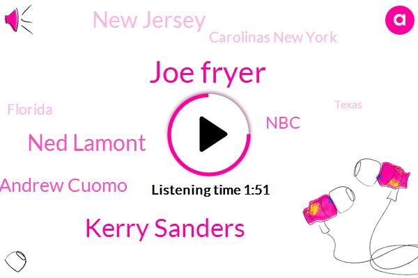 California,NBC,Joe Fryer,Florida,Kerry Sanders,New Jersey,Connecticut,Ned Lamont,Good Morning America,Utah,Andrew Cuomo,Texas,Arizona,New York,Carolinas New York