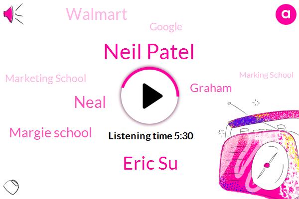 Neil Patel,Google,Eric Su,Marketing School,Neal,Margie School,Walmart,Marking School,Researcher,Canada,First Round Capital,Graham