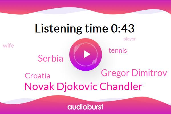 Tennis,Novak Djokovic Chandler,Serbia,Croatia,Gregor Dimitrov
