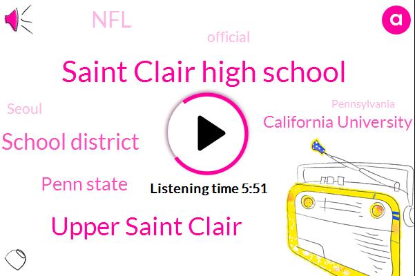 Saint Clair High School,Upper Saint Clair,Upper Saint Clair School District,Official,Penn State,California University Of Pennsylvania,Sports,Seoul,Pennsylvania,NFL,United States