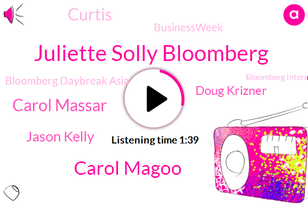 Bloomberg,Bloomberg Daybreak Asia,Juliette Solly Bloomberg,Bloomberg Interactive Brokers,Businessweek,Daybreak Asia,DOT,Carol Magoo,Carol Massar,Hong Kong,New York,FED,Intech,Jason Kelly,China,Doug Krizner,Curtis,Wuhan,Apple