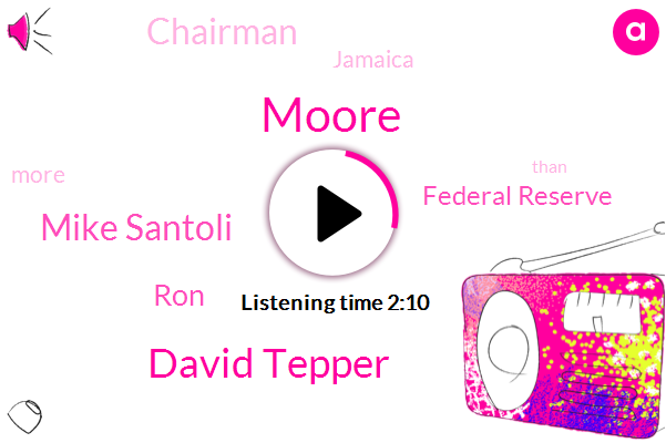 David Tepper,Federal Reserve,Chairman,Mike Santoli,Moore,Jamaica,RON