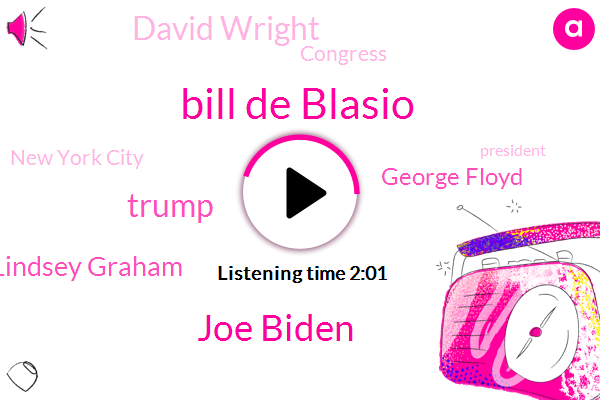 New York City,Bill De Blasio,Joe Biden,Donald Trump,Congress,President Trump,Senator Lindsey Graham,Israel,Jerusalem,Paris,ABC,Philadelphia,George Floyd,David Wright