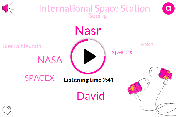 Spacex,Nasa,International Space Station,Boeing,Sierra Nevada,Nasr,David