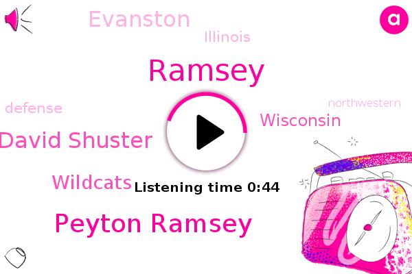 Peyton Ramsey,Ramsey,Wisconsin,Wildcats,David Shuster,Evanston,Illinois
