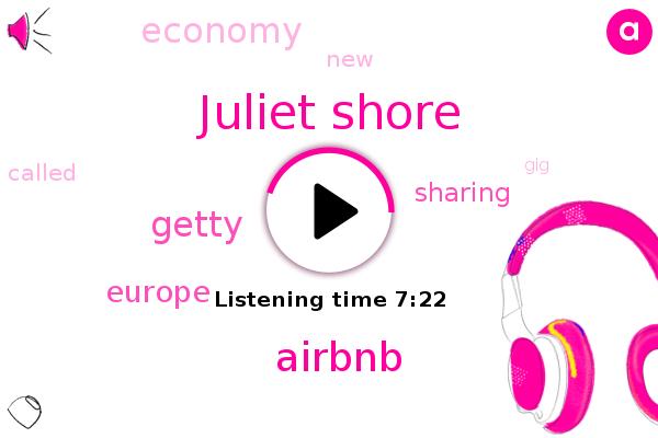 Juliet Shore,Airbnb,Europe,Getty