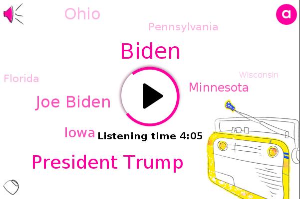 Listen: Biden Wins Minnesota While Trump Retains 2016 Grip on Florida, Ohio and Iowa