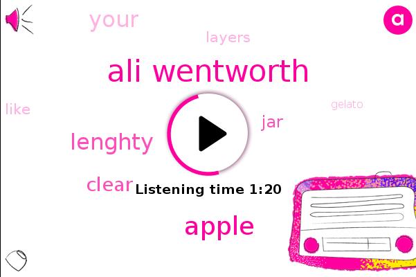 Ali Wentworth,Apple