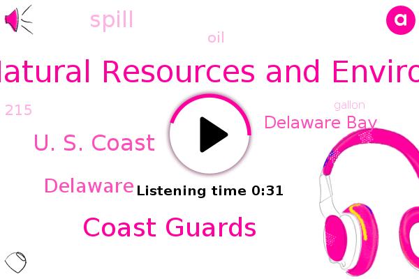 Listen: Philadelphia - 215-Gallon Oil Spill Discovered At Delaware Beach