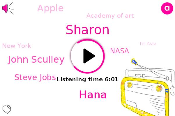 Sharon,New York,Israel,Tel Aviv,CEO,Apple,Emojis,Nasa,Romania,United States,Hana,Germany,Jerusalem,Academy Of Art,John Sculley,Steve Jobs,China