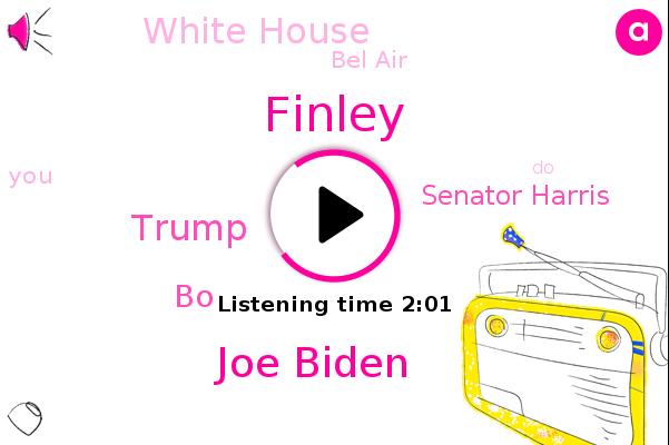 Joe Biden,Donald Trump,White House,Finley,Bel Air,BO,Senator Harris