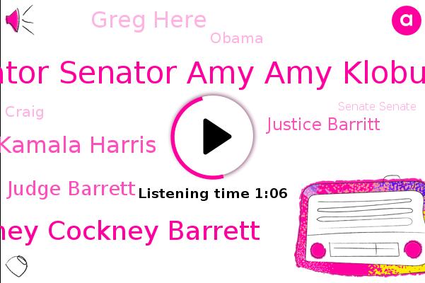 Listen: Sen. Klobuchar: Amy Coney Barrett gave Trump a 'clear signal' about her stance on the ACA