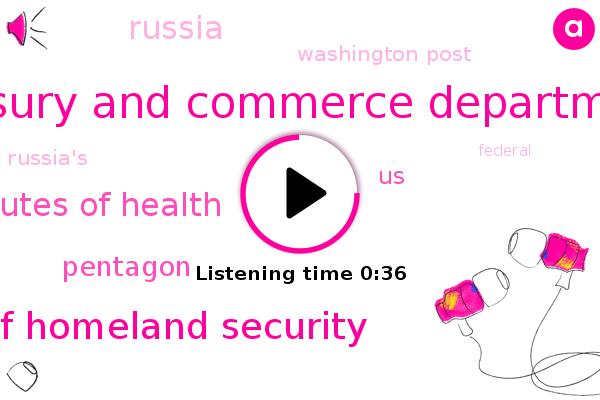 Listen: U.S. Commerce Department confirms security 'breach'