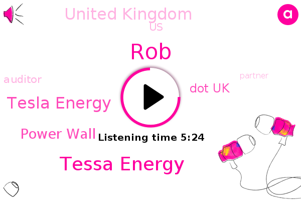 Tesla,United Kingdom,Tesla Energy,Tessa Energy,United States,Power Wall,ROB,Dot Uk,Auditor,Partner