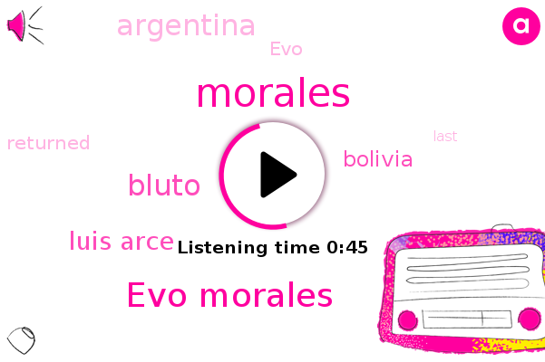Morales,Bolivia,Evo Morales,Bluto,Argentina,Luis Arce