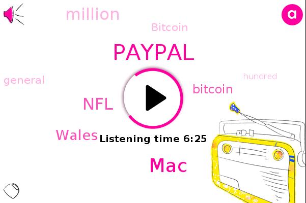 Paypal,MAC,NFL,Wales