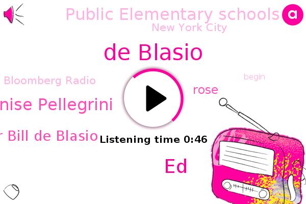 Listen: New York City mayor announces public elementary schools to begin reopening