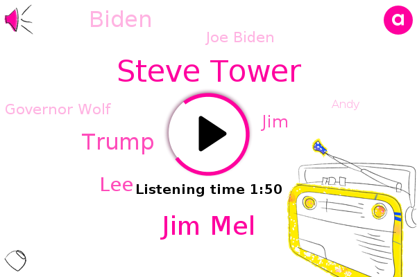 Steve Tower,Jim Mel,Pennsylvania,Donald Trump,LEE,Philadelphia,Allegheny County,Philly,JIM,Biden,Joe Biden,Governor Wolf,Wilmington,Andy