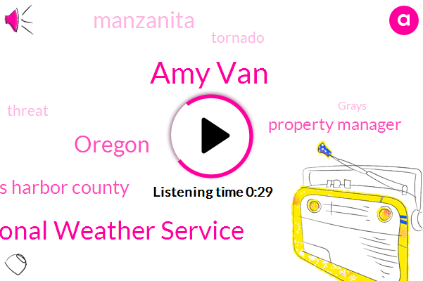 Grays Harbor County,National Weather Service,Property Manager,Manzanita,Oregon,Amy Van