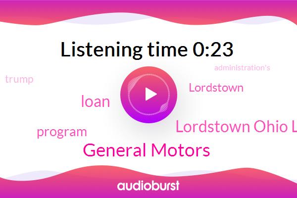 General Motors,Lordstown Ohio Lordstown