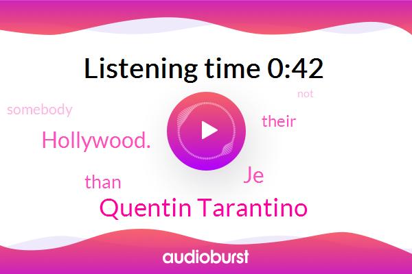 Quentin Tarantino,JE,Hollywood.