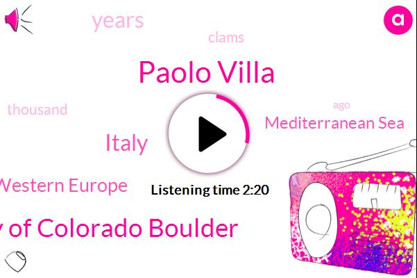 Mediterranean Sea,Paolo Villa,Study University Of Colorado Boulder,Italy,Western Europe