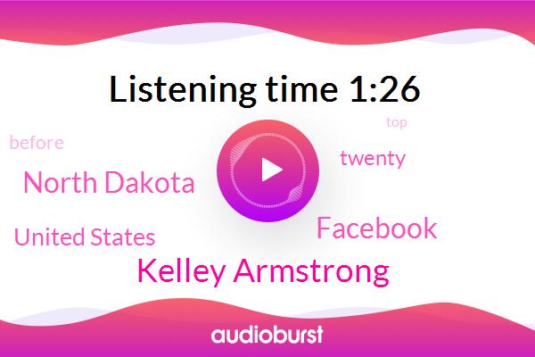 Kelley Armstrong,North Dakota,United States,Facebook