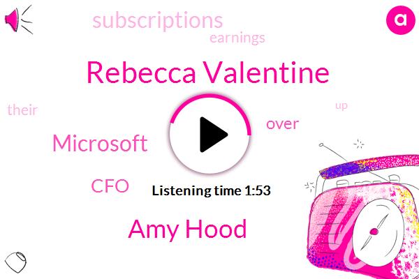 Microsoft,Rebecca Valentine,CFO,Amy Hood