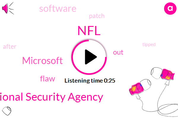 National Security Agency,NFL,Microsoft