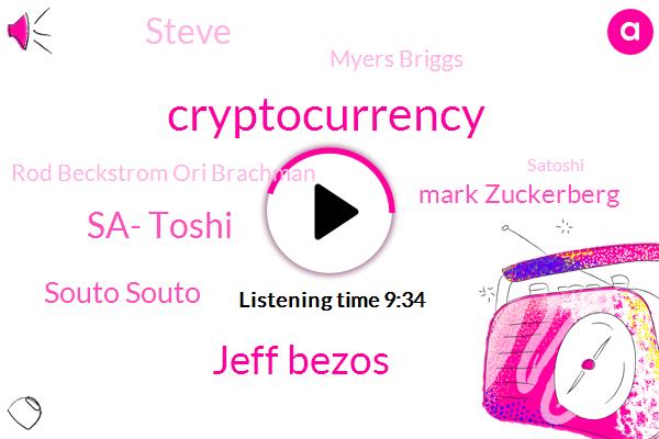 Jeff Bezos,Sa- Toshi,CEO,United States,Souto Souto,Cryptocurrency,Mark Zuckerberg,Napster,Steve,ICO,CIA,Myers Briggs,Rod Beckstrom Ori Brachman,Amazon,Satoshi,Saito,Ijaz,Founder