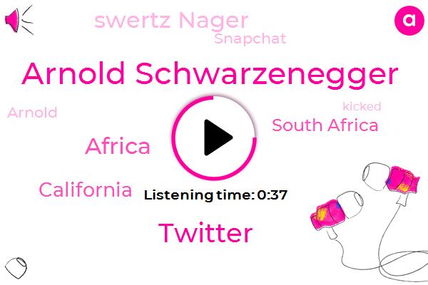 Listen: Video: Watch Arnold Schwarzenegger Get Drop-Kicked at Event in South Africa