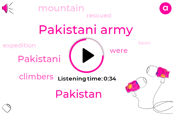 Listen: Pakistani Military Rescues 6 Mountain Climbers Trapped by Avalanche