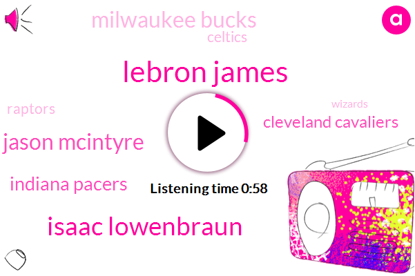 Indiana Pacers,Cleveland Cavaliers,Celtics,Toronto,Sixers,Philadelphia,Isaac Lowenbraun,Lebron James,Milwaukee,Jason Mcintyre