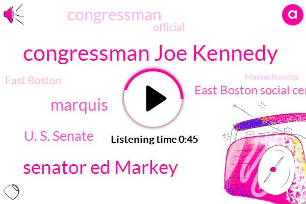 Listen: Rep. Joe Kennedy formally announces US Senate campaign