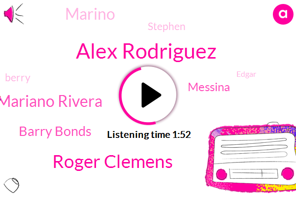 Alex Rodriguez,Baseball,Roger Clemens,Mariano Rivera,Barry Bonds,Veterans Committee,Messina,Marino,Stephen,Berry,Edgar,One Hundred Percent,Fifty Nine Percent,Three Years