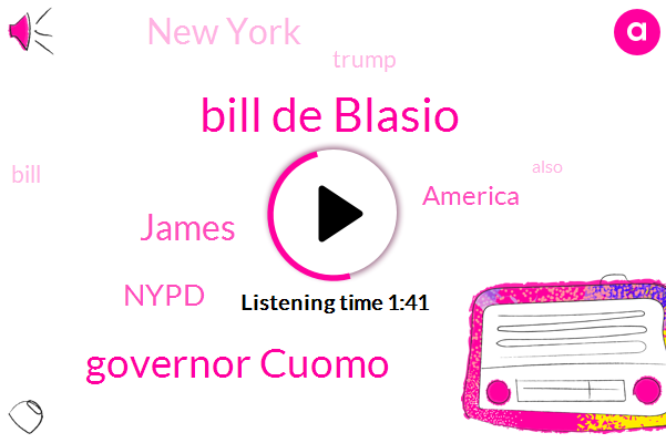 Nypd,America,Bill De Blasio,Governor Cuomo,New York,James
