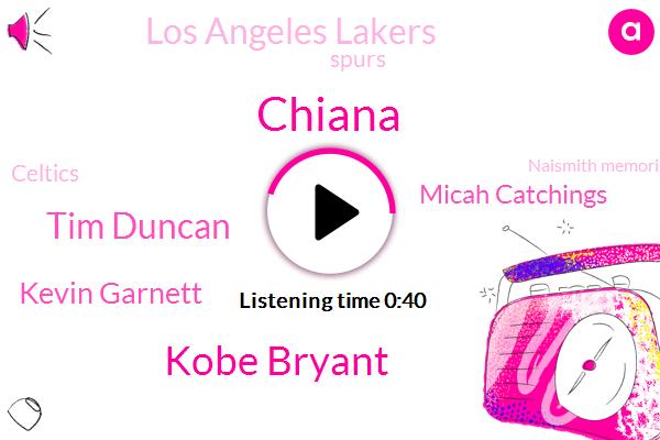 Kobe Bryant,Chiana,Los Angeles Lakers,Spurs,Tim Duncan,San Antonio,Kevin Garnett,Celtics,Micah Catchings,Basketball,Naismith Memorial Basketball Hall Of Fame,Olympic,NBA
