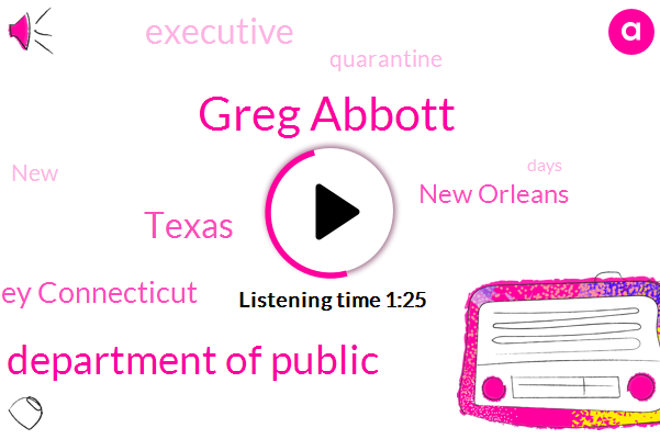 New York New Jersey Connecticut,New Orleans,Greg Abbott,Texas,Texas Department Of Public,Executive