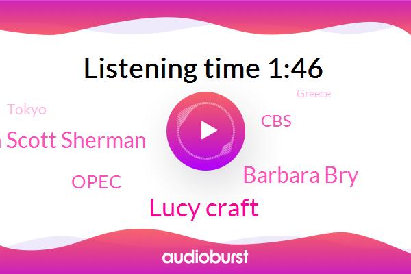 Lucy Craft,Tokyo,Greece,Olympics,San Diego,Barbara Bry,Councilman Scott Sherman,Opec,CBS