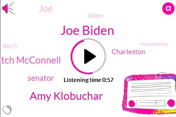 Joe Biden,Amy Klobuchar,Mitch Mcconnell,Senator,Charleston