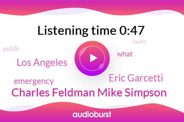 Charles Feldman Mike Simpson,Los Angeles,Eric Garcetti