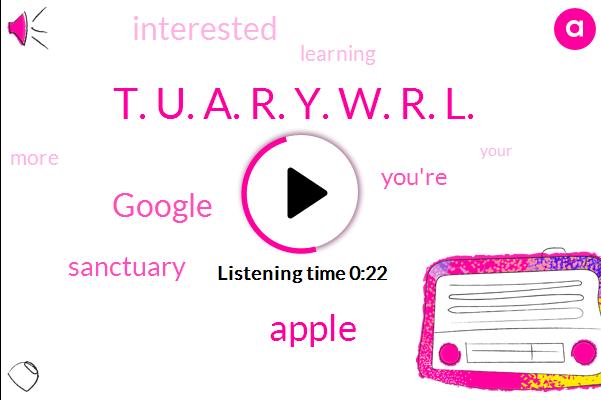 Apple,Google,T. U. A. R. Y. W. R. L.