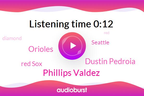 Red Sox,Orioles,Phillips Valdez,Seattle,Dustin Pedroia