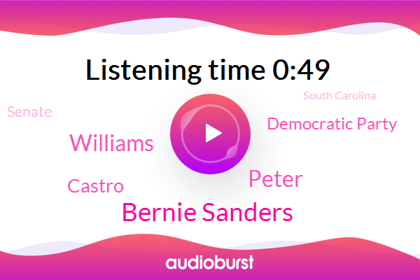 Listen: CBS News Democratic debate in Charleston, South Carolina