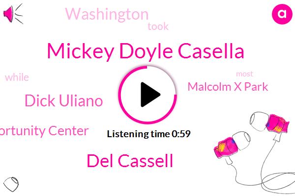 Restaurant Opportunity Center,Mickey Doyle Casella,Del Cassell,Malcolm X Park,Dick Uliano,Washington