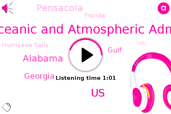 Hurricane Sally,United States,Gulf,National Oceanic And Atmospheric Administration,UN,Pensacola,Alabama,Georgia,Florida